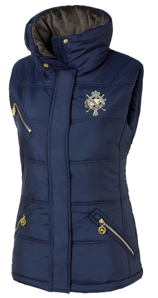 Mountain Horse Cheval Vest in Sapphire Blue