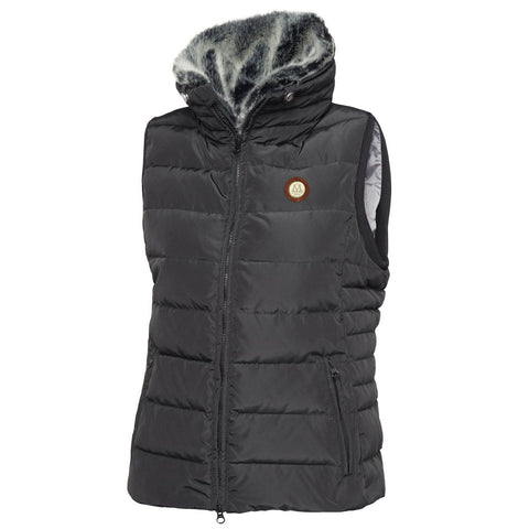 Mountain Horse Empress Down Vest in Black