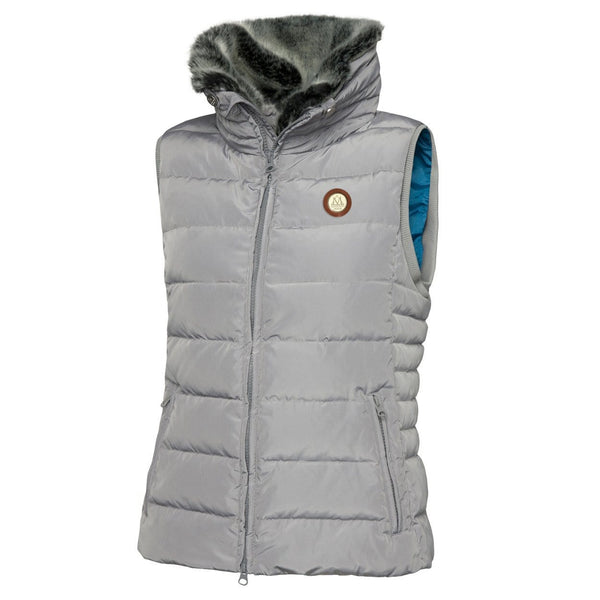 Mountain Horse Empress Down Vest in Grey