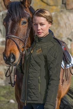 Mountain Horse Equinn Jacket - XS / Dark Olive | EQUUS