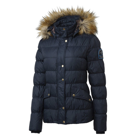 Mountain Horse Lauren Down Jacket in Navy Front