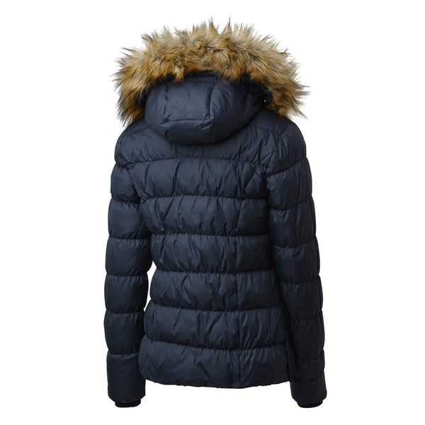 Mountain Horse Lauren Down Jacket Navy Studio Rear View 03251