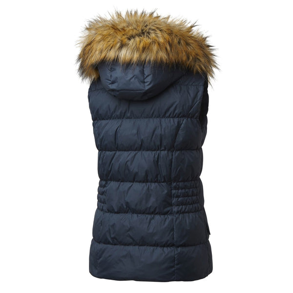 Mountain Horse Lauren Down Vest in Navy Rear