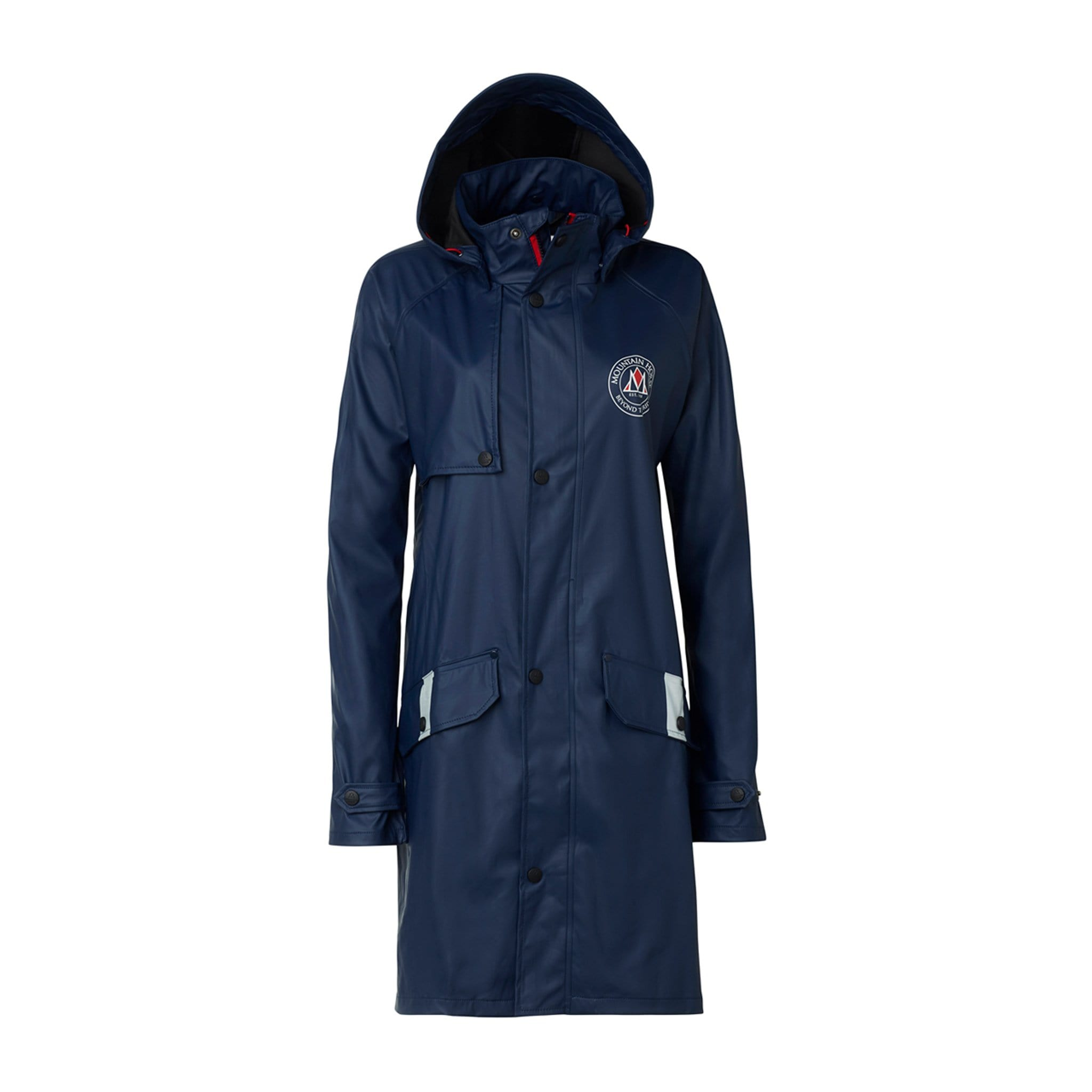 Mountain Horse Misty Rain Coat Studio Front View 03204