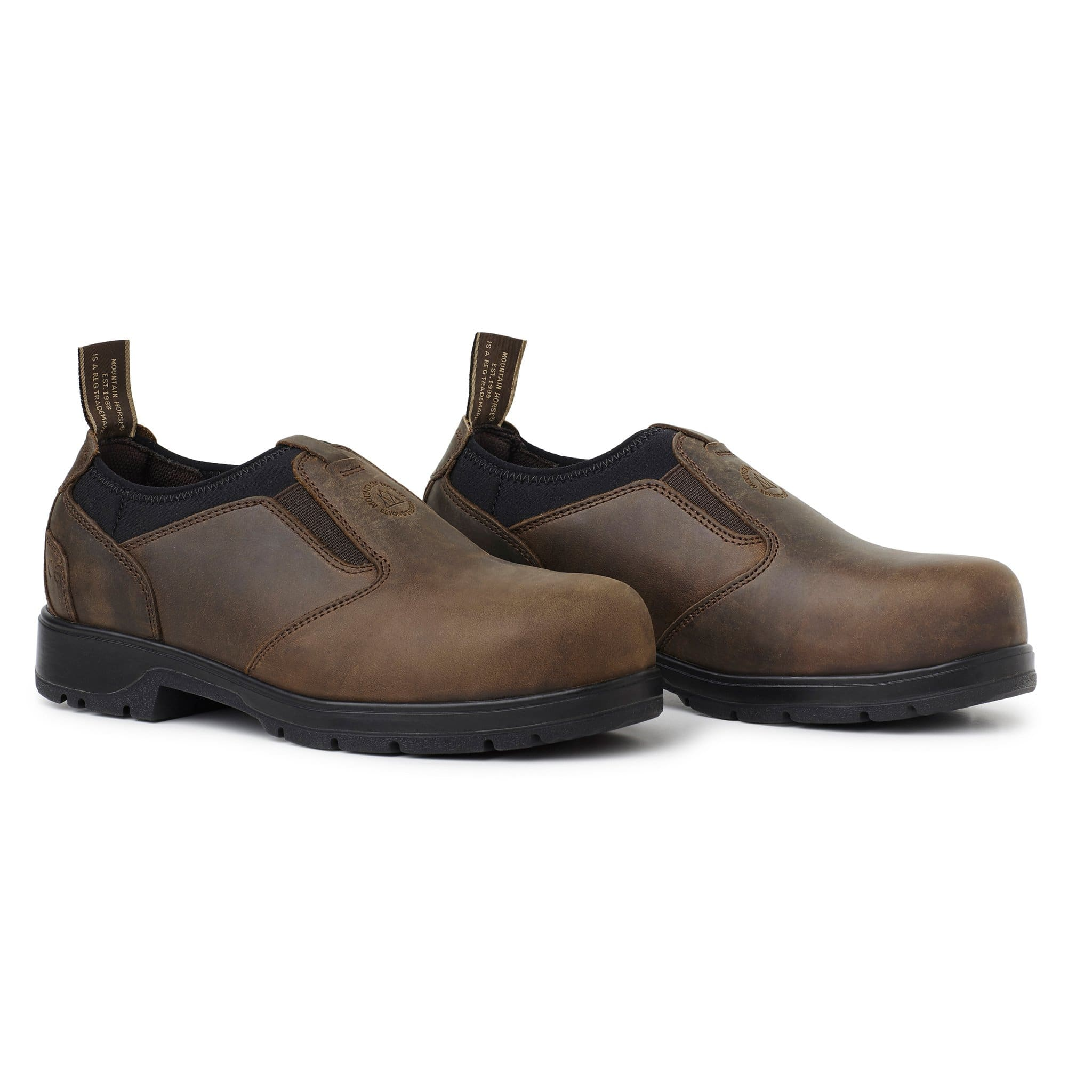Mountain Horse Protective Loafers Brown 01057