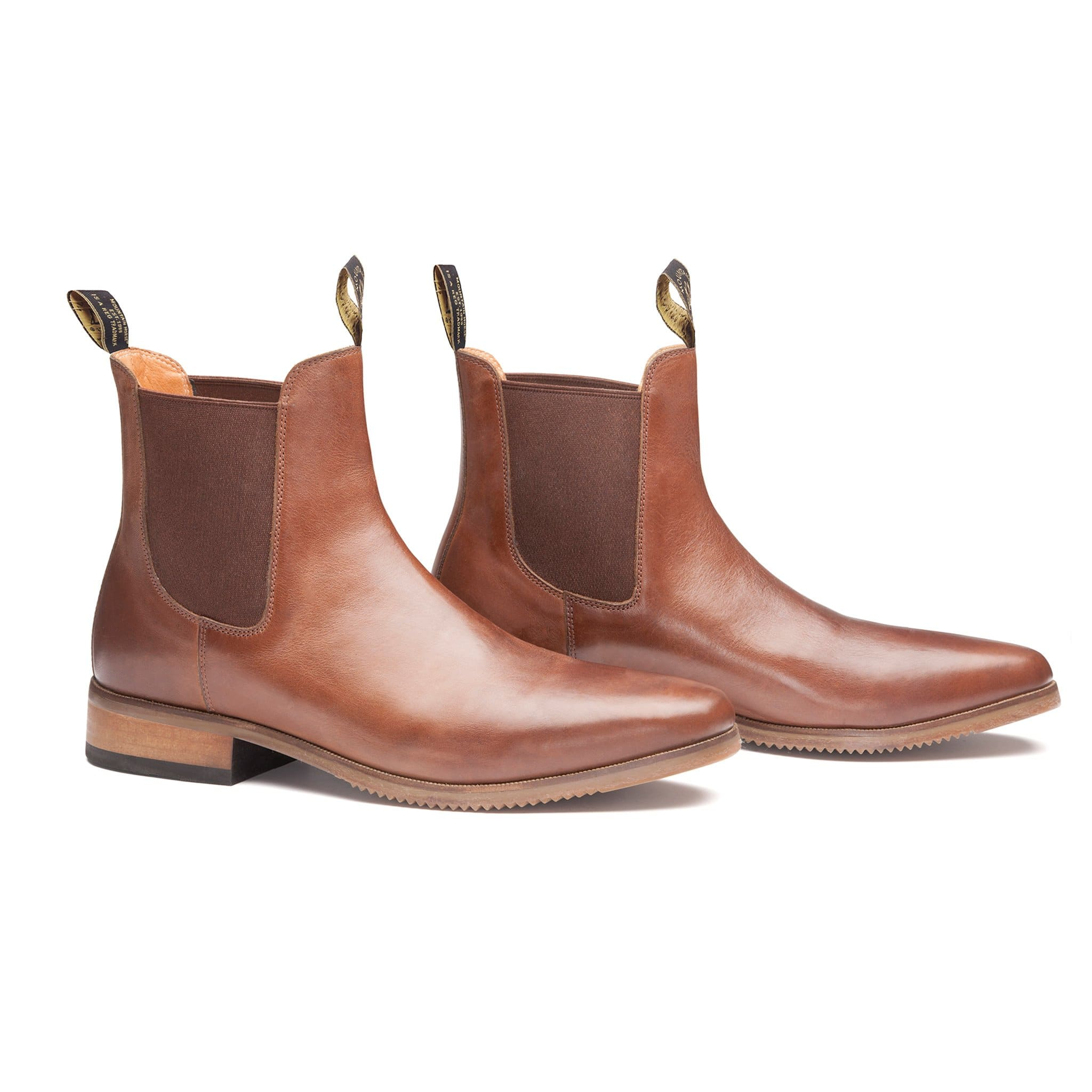 Mountain Horse Resolute Jodhpur Boot in Light Brown Studio 01034