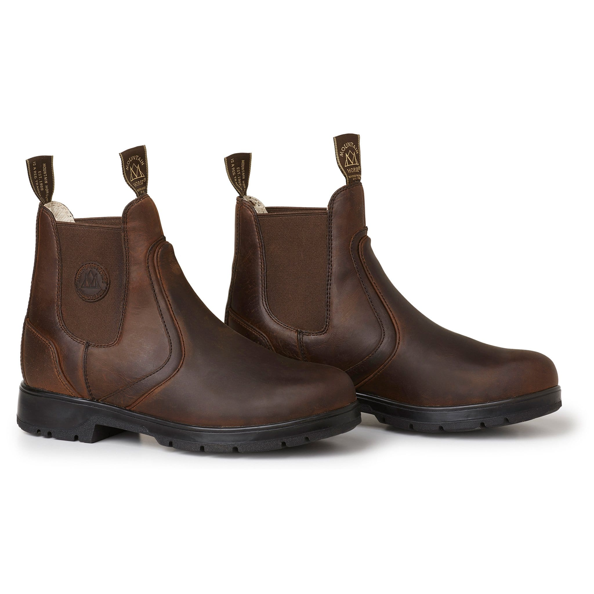 Mountain Horse Spring River Jodhpur Boot Brown 01049