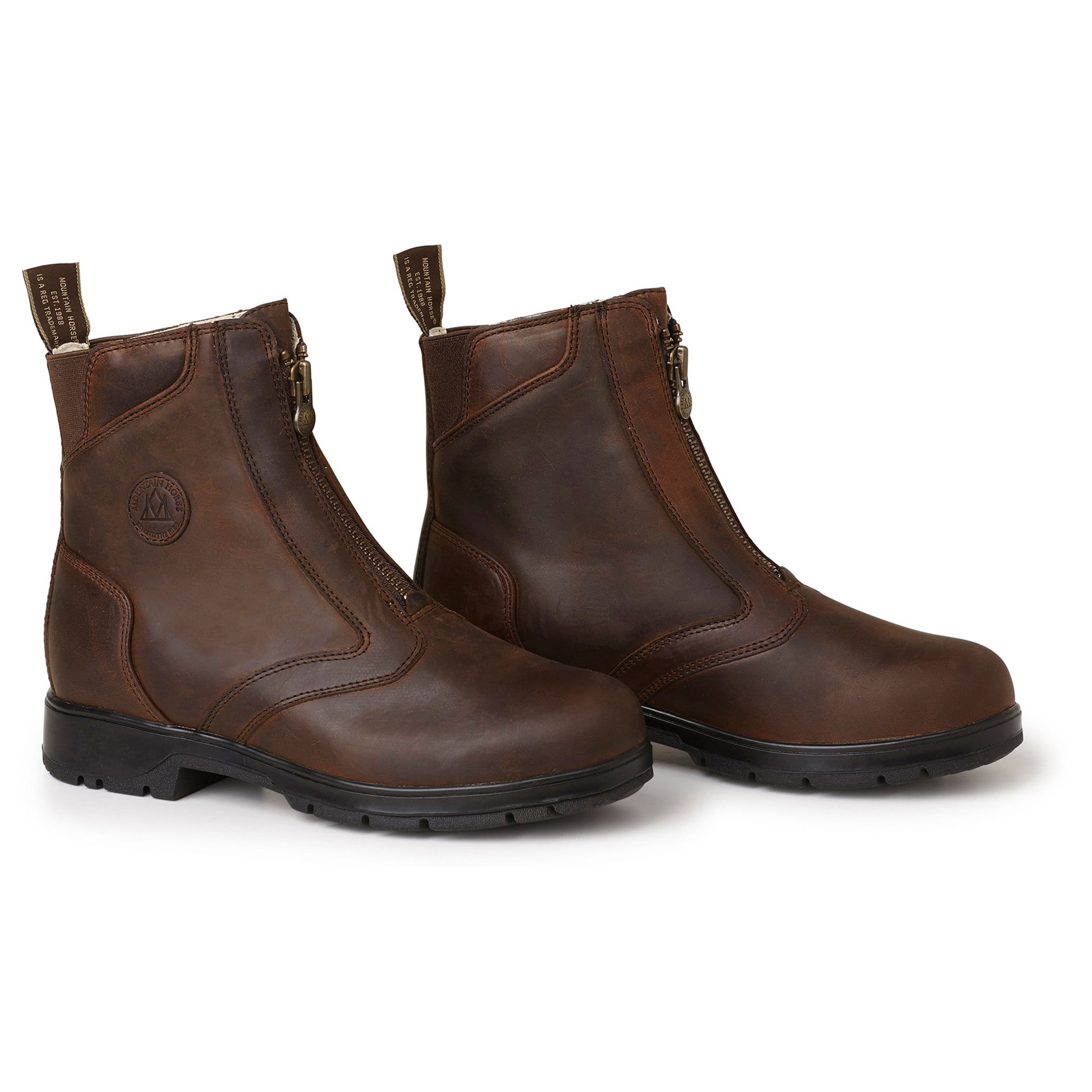 Mountain Horse Spring River Paddock Boot Brown 01054