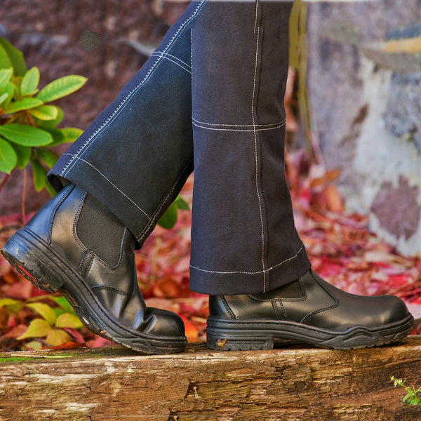 Mountain Horse Stable Jodhpur Boots Black Lifestyle 01220