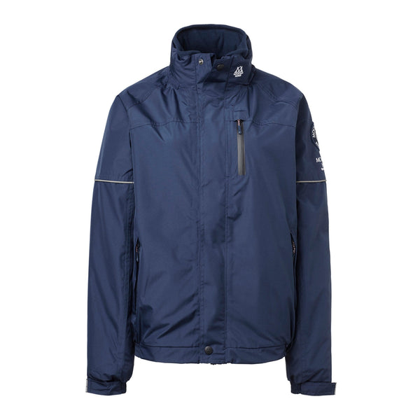 Mountain Horse Team Jacket Navy Studio Front View 03202