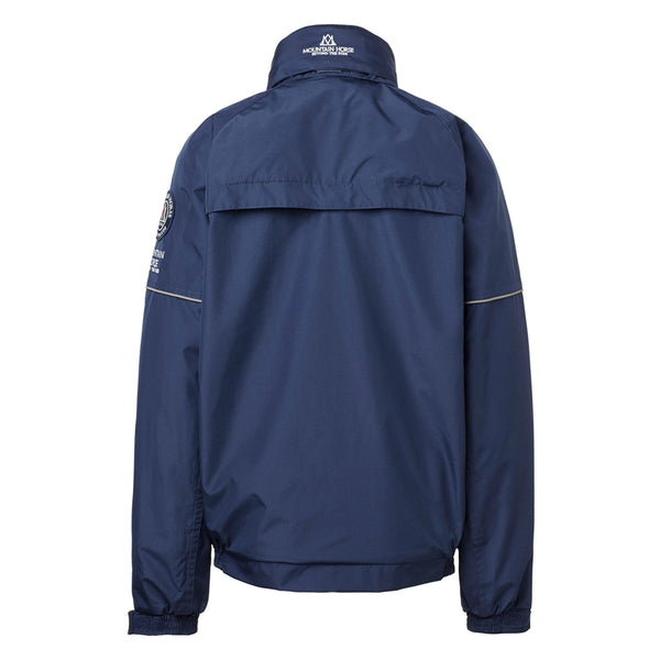 Mountain Horse Team Jacket Navy Studio Rear View 03202