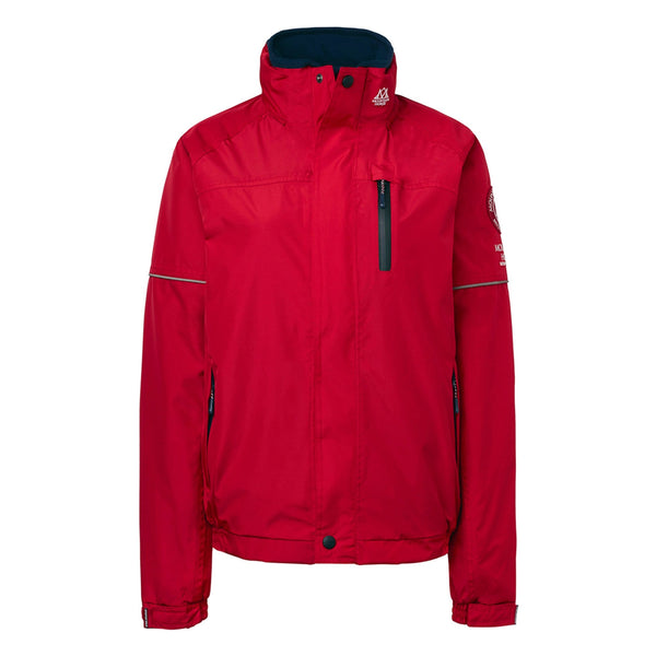 Mountain Horse Team Jacket Red Studio Front View 03202