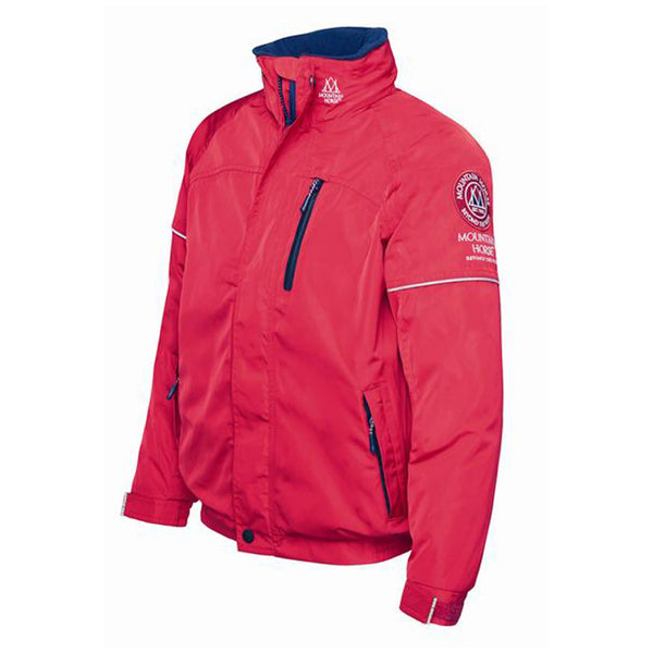 Mountain Horse Team Jacket Red Studio 03202