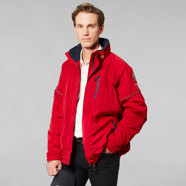 Mountain Horse Team Jacket Red Studio Male Model Front View 03202