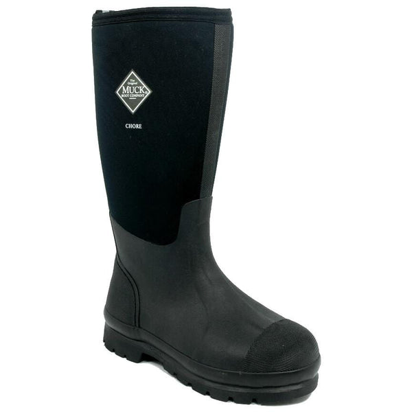 Chore Hi Muck Boot in Black Side