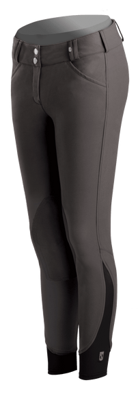 Tredstep Symphony Nero Ladies Knee Patch Breech - 24 / Pearl | EQUUS