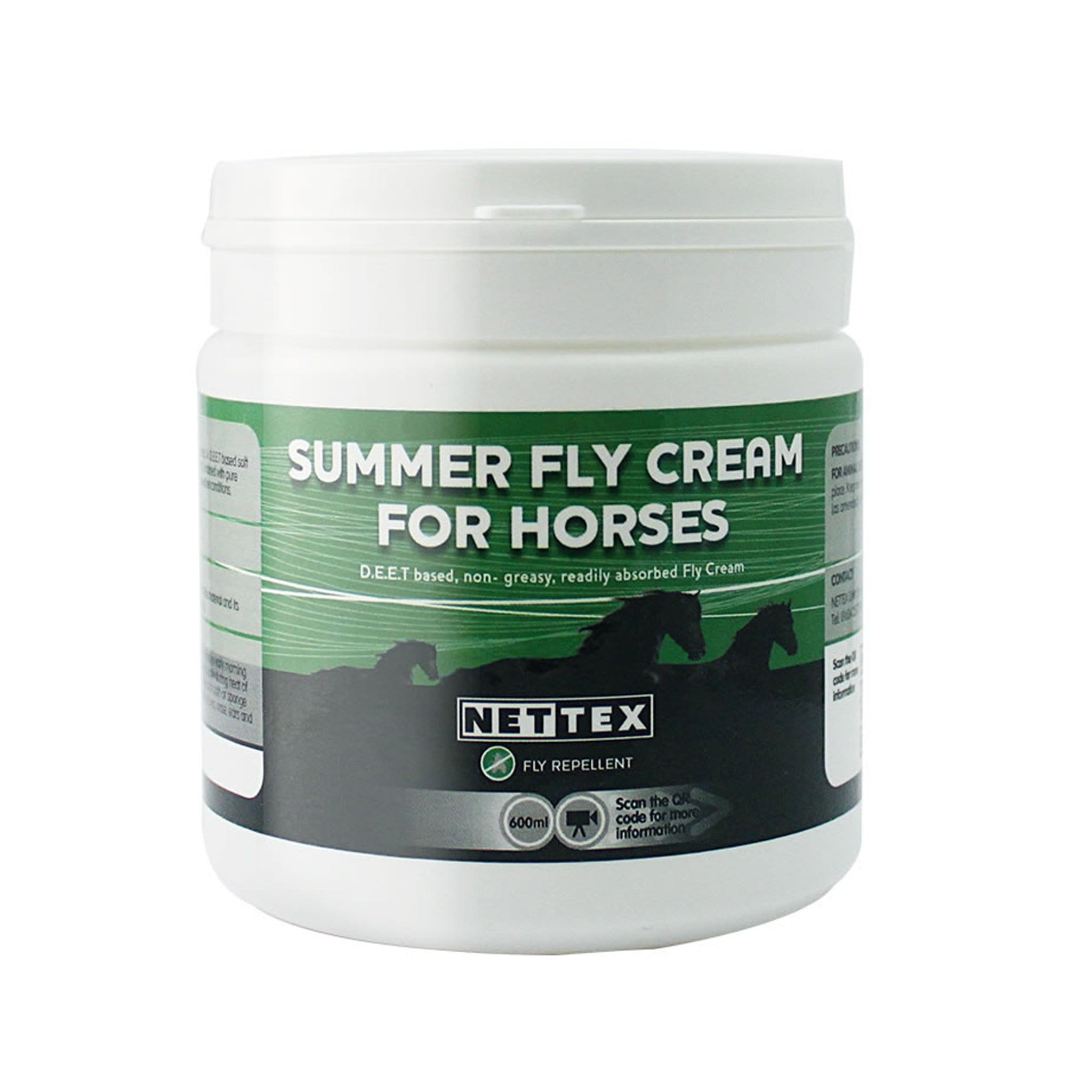 Nettex Equine Summer Fly Cream 600ML Tub NET0075