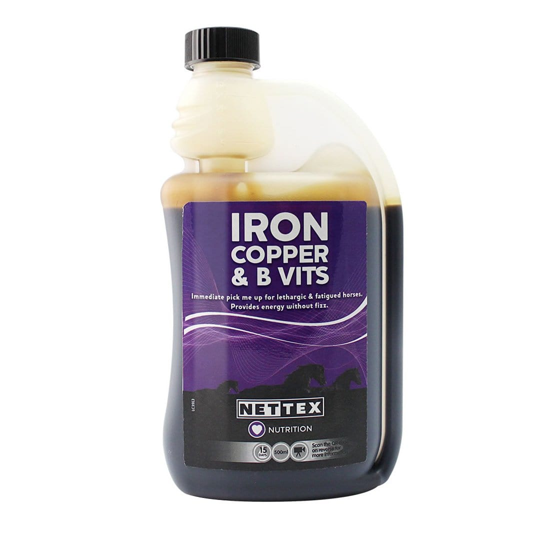 Nettex Iron, Copper and B Vits 500ML NET0315.