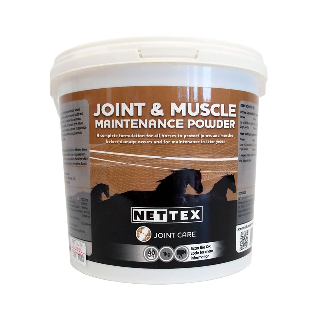 Nettex Joint and Muscle Maintenance Powder 1KG NET0190.