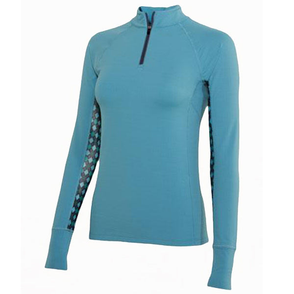 Noble Outfitters Ashley Long Sleeved Riding Top Duchess Blue 21505