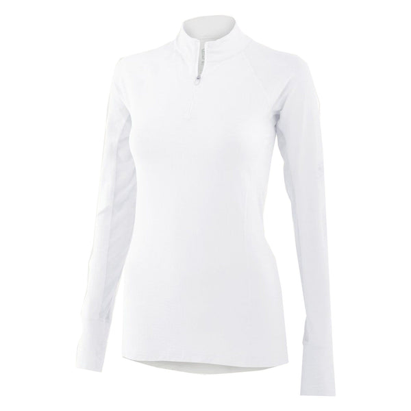 Noble Outfitters Ashley Long Sleeved Riding Topin White 21505