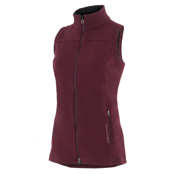 Noble Outfitters All Around Vest in Wine Red