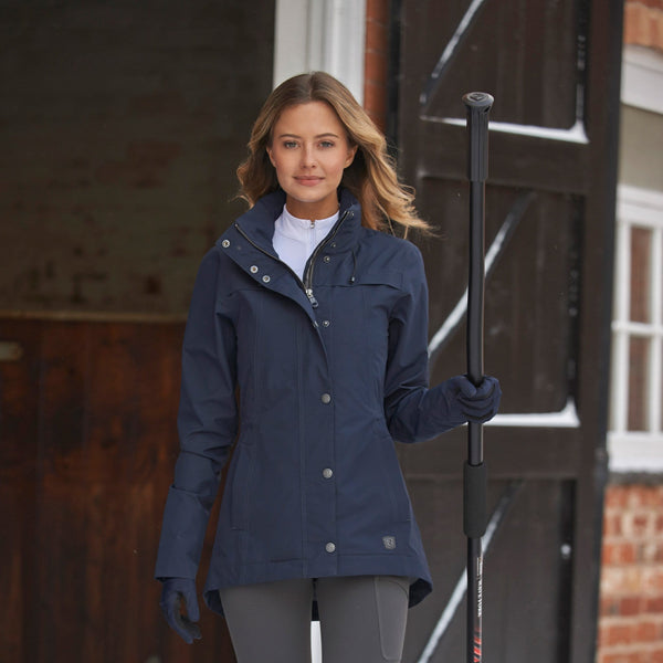 Noble Outfitters Cheval Waterproof Jacket Navy Lifestyle 28516