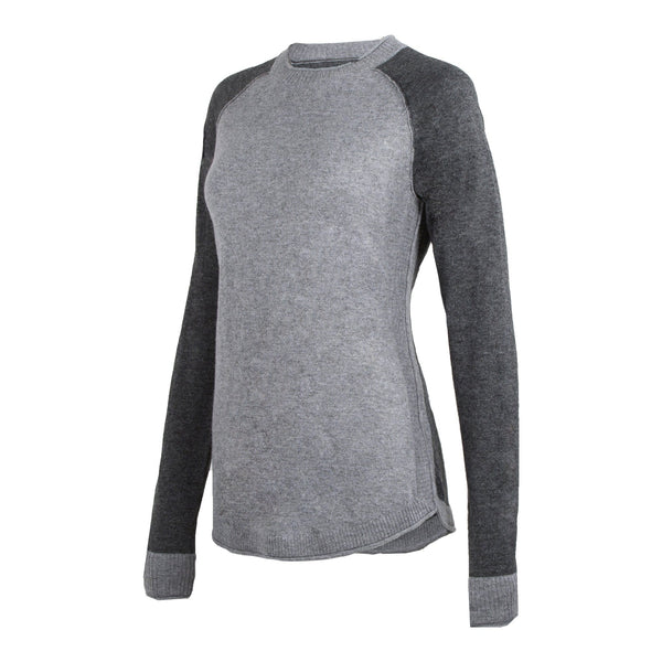 Noble Outfitters Homerun Crew Top Grey Charcoal Studio 27003