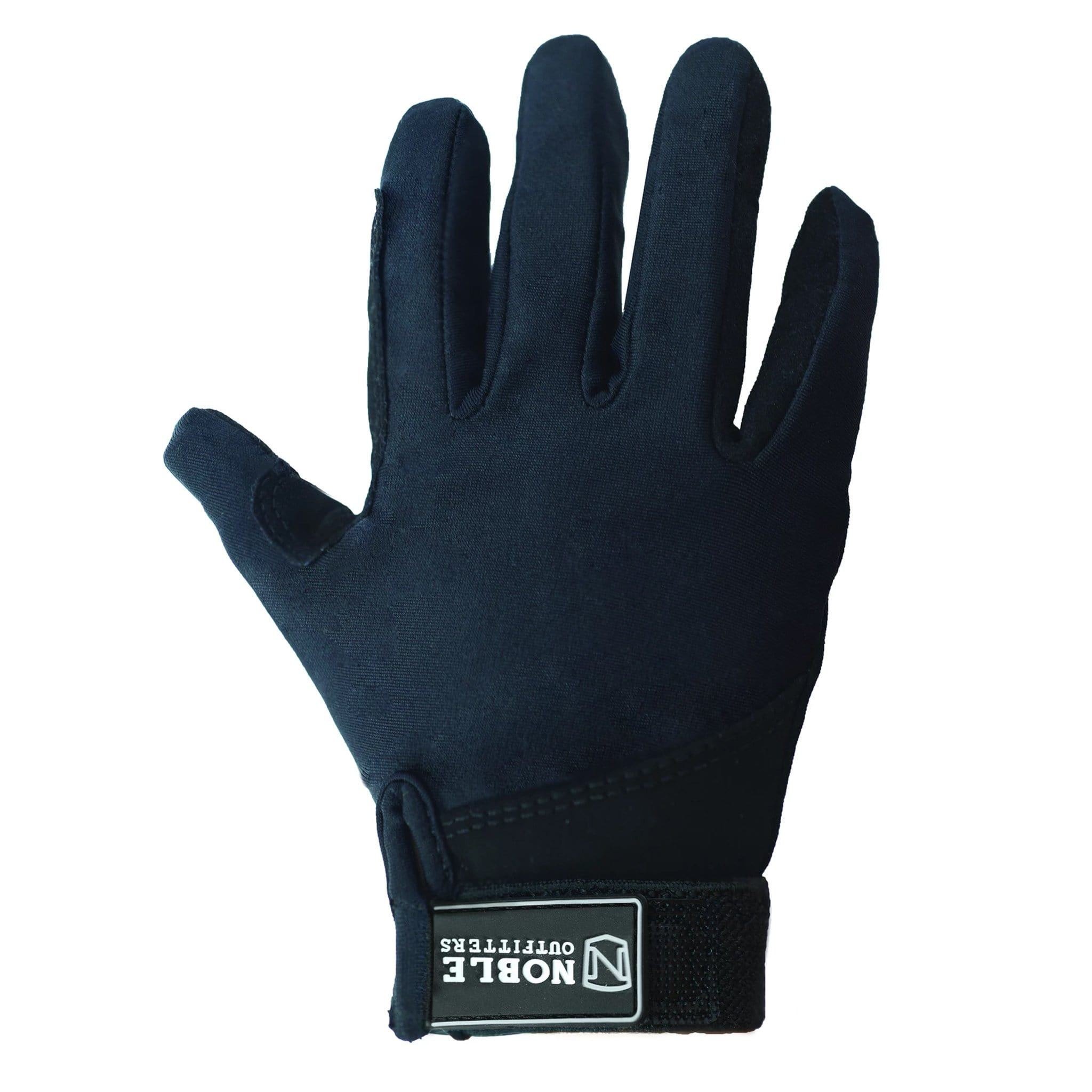 Noble Equestrian Kid's Perfect Fit Glove Black 52001.