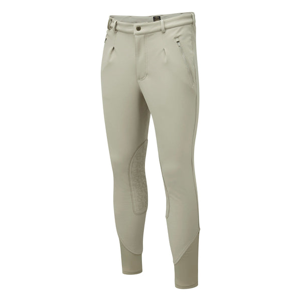 Noble Outfitters Men's Softshell Breeches Tan Studio Front View 18401
