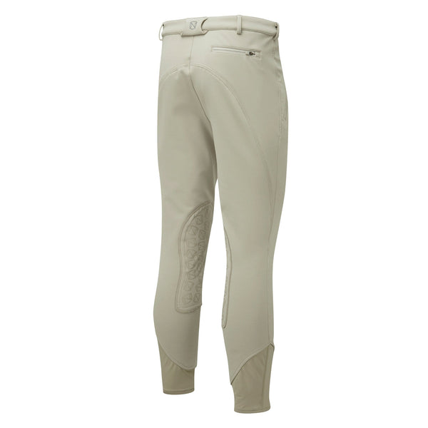 Noble Outfitters Men's Softshell Breeches Tan Studio Rear View 18401