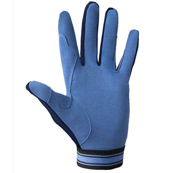 Noble Outfitters Perfect Fit Cool Mesh Glove Front in Navy and Periwinkle 50009