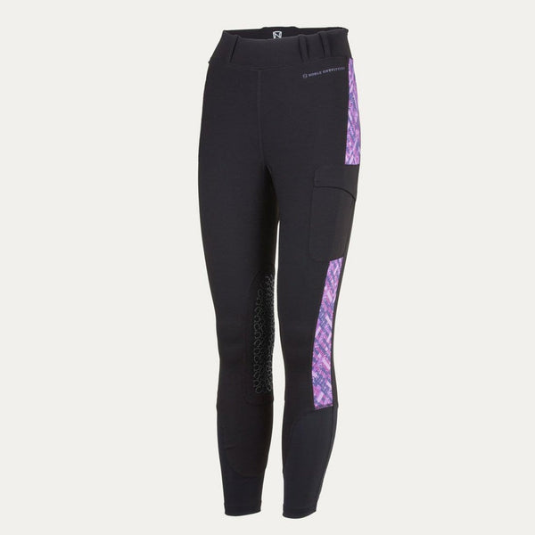 Noble Outfitters Printed Balance Riding Tight Black Studio 24004