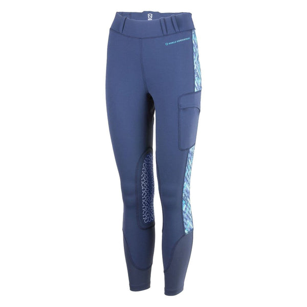 Noble Outfitters Printed Balance Riding Tight Navy Studio 24004