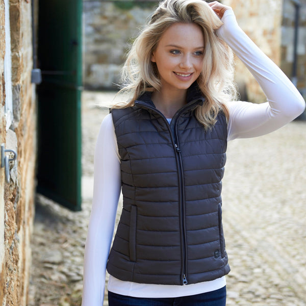 Noble Outfitters Radius Insulated Vest worn by Rider