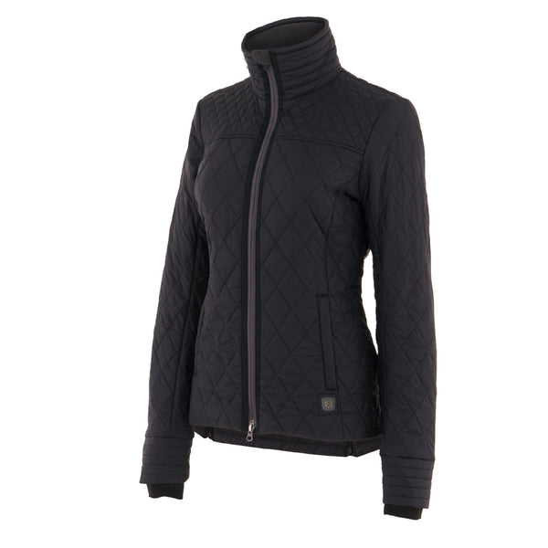 Noble Outfitters Warmup Quilted Jacket Black Studio 28508