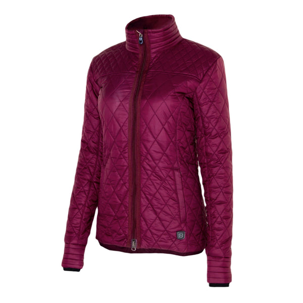 Noble Outfitters Warmup Quilted Jacket Fig Studio 28508