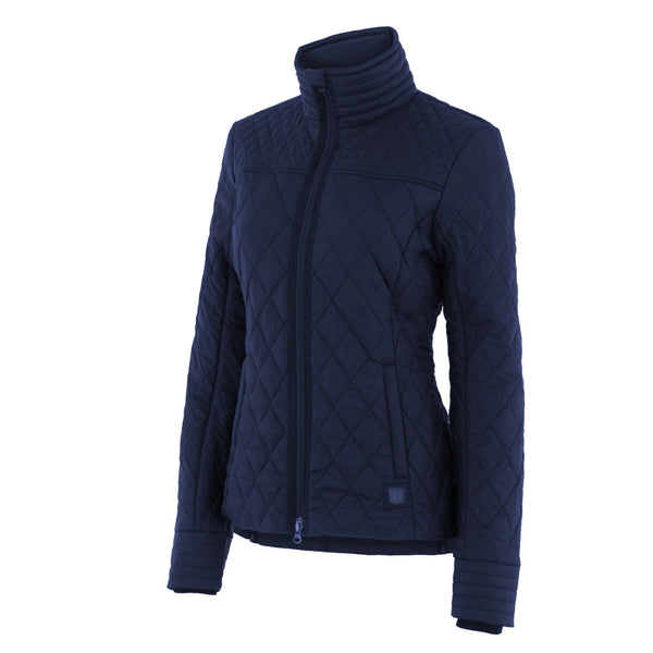 Noble Outfitters Warmup Quilted Jacket Navy Studio 28508