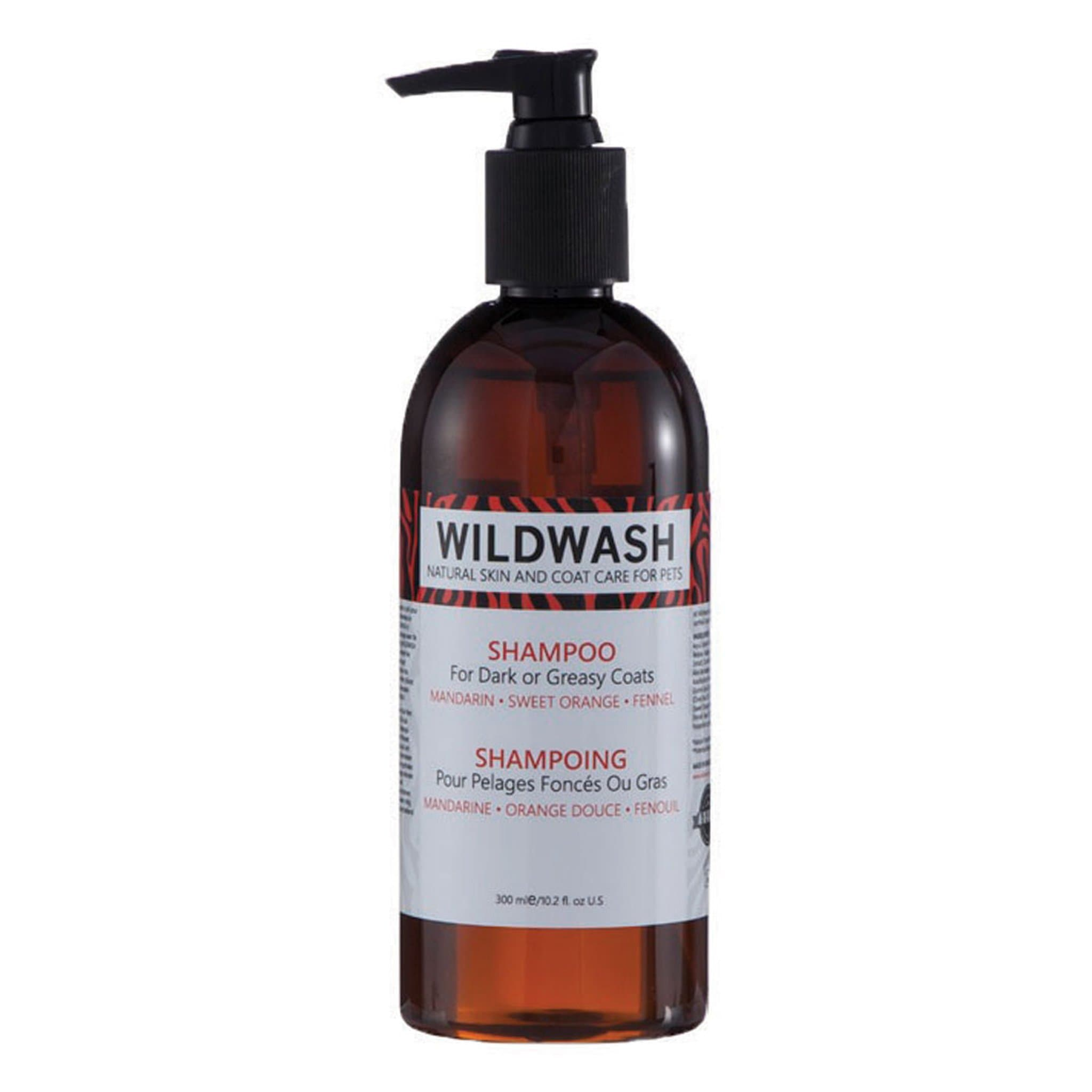 Pet Revolution WildWash Dog Shampoo For Dark Or Greasy Coats 11532 300ml