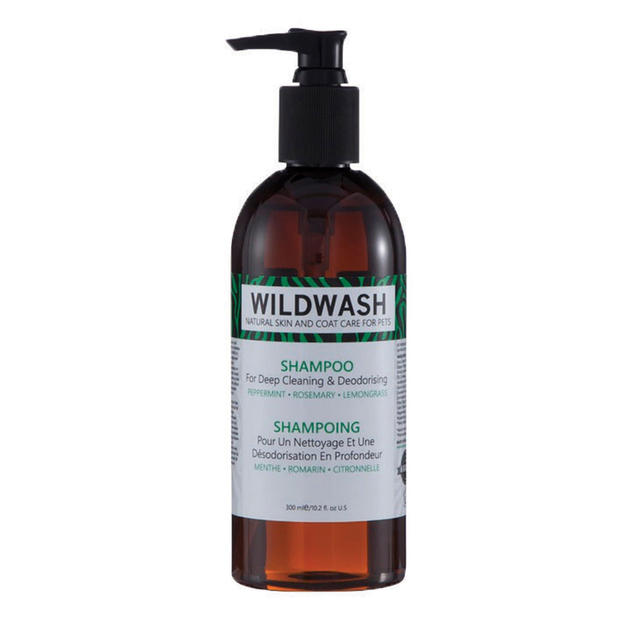 Pet Revolution WildWash Dog Shampoo For Deep Cleaning 11535 300ml