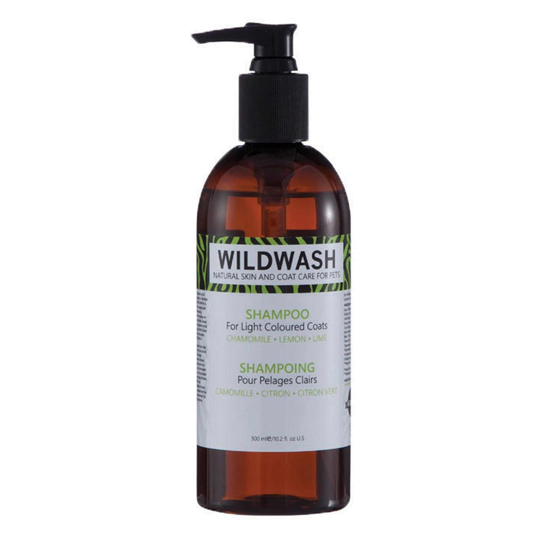 Pet Revolution WildWash Dog Shampoo For Light Coats 11529 300ml