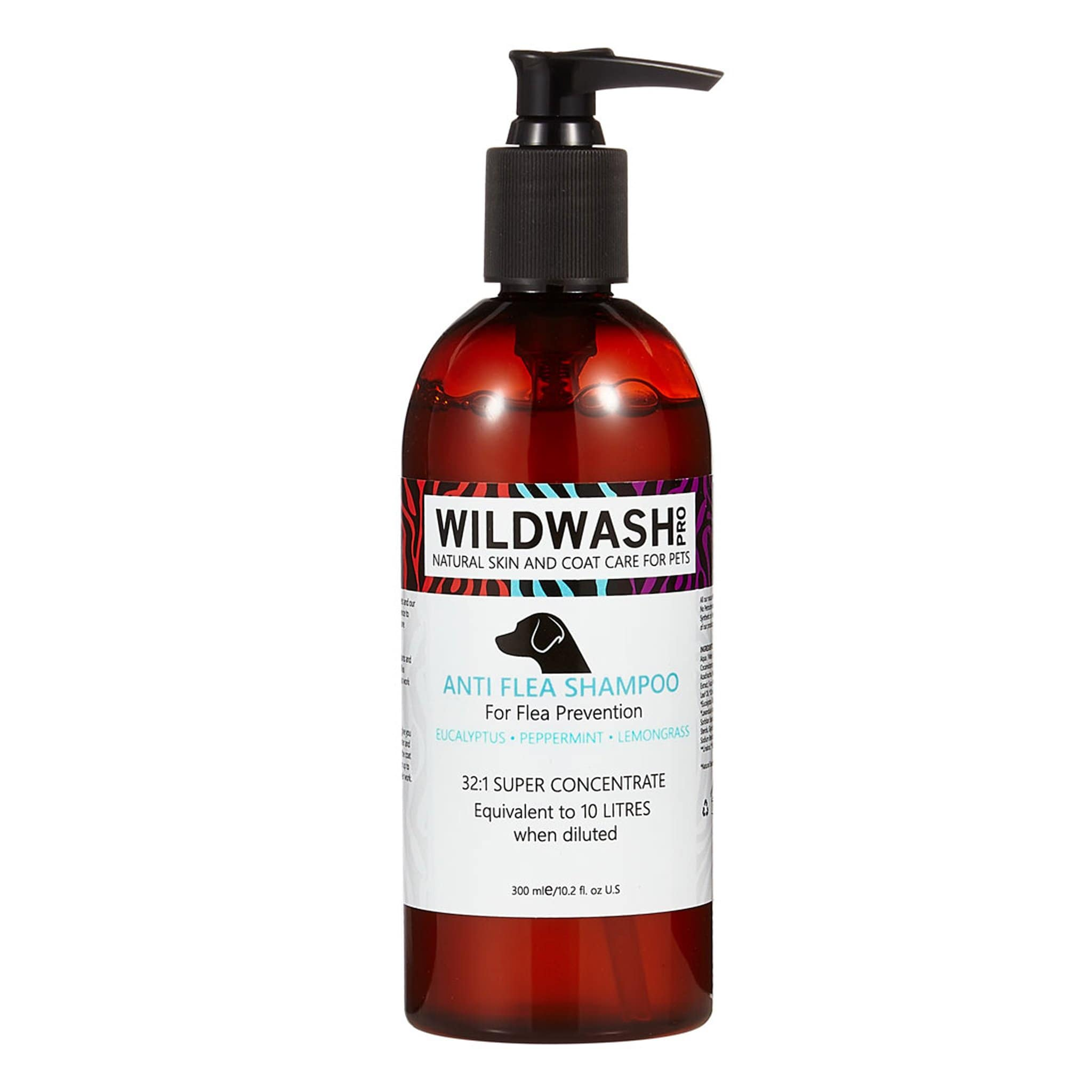 Pet Revolution WildWash Pro Anti-Flea Dog Shampoo 14805 300ml