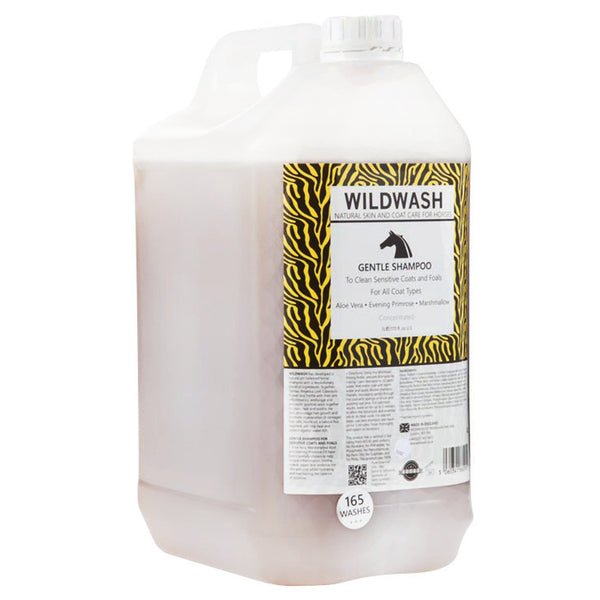 Pet Revolution WildWash Gentle Horse Shampoo 5L 11515