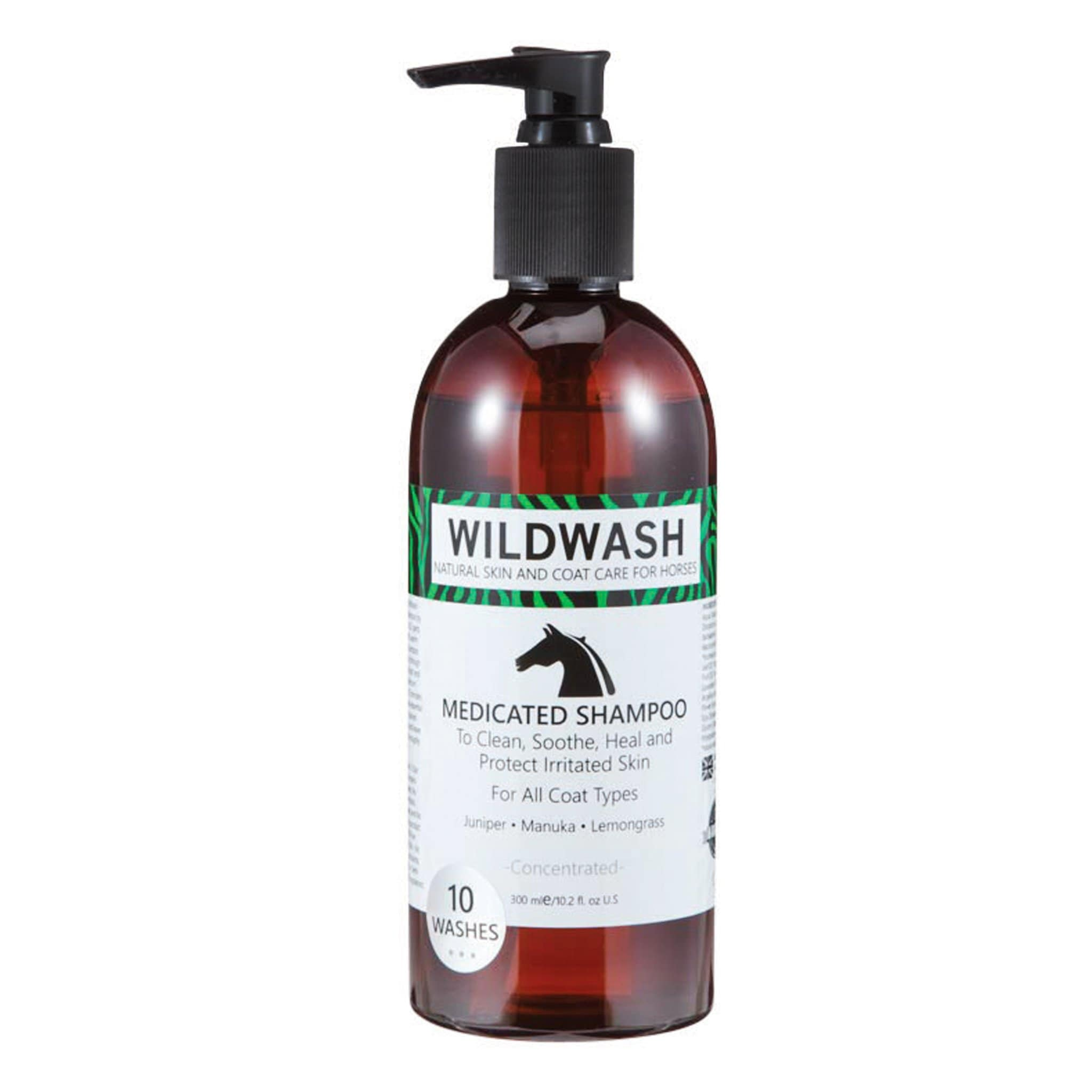 Pet Revolution WildWash Medicated Horse Shampoo 11517