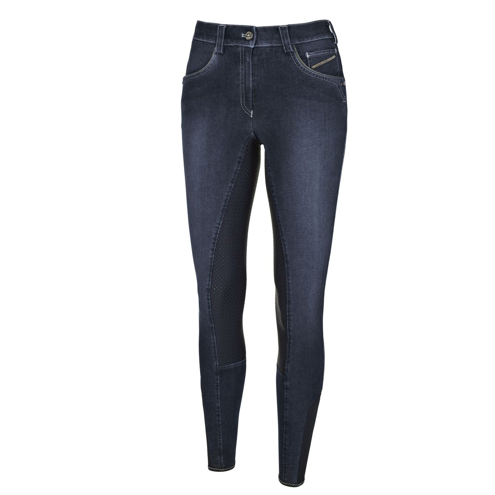 Pikeur Darjeen Grip Jean Denim Breeches Front 145016.