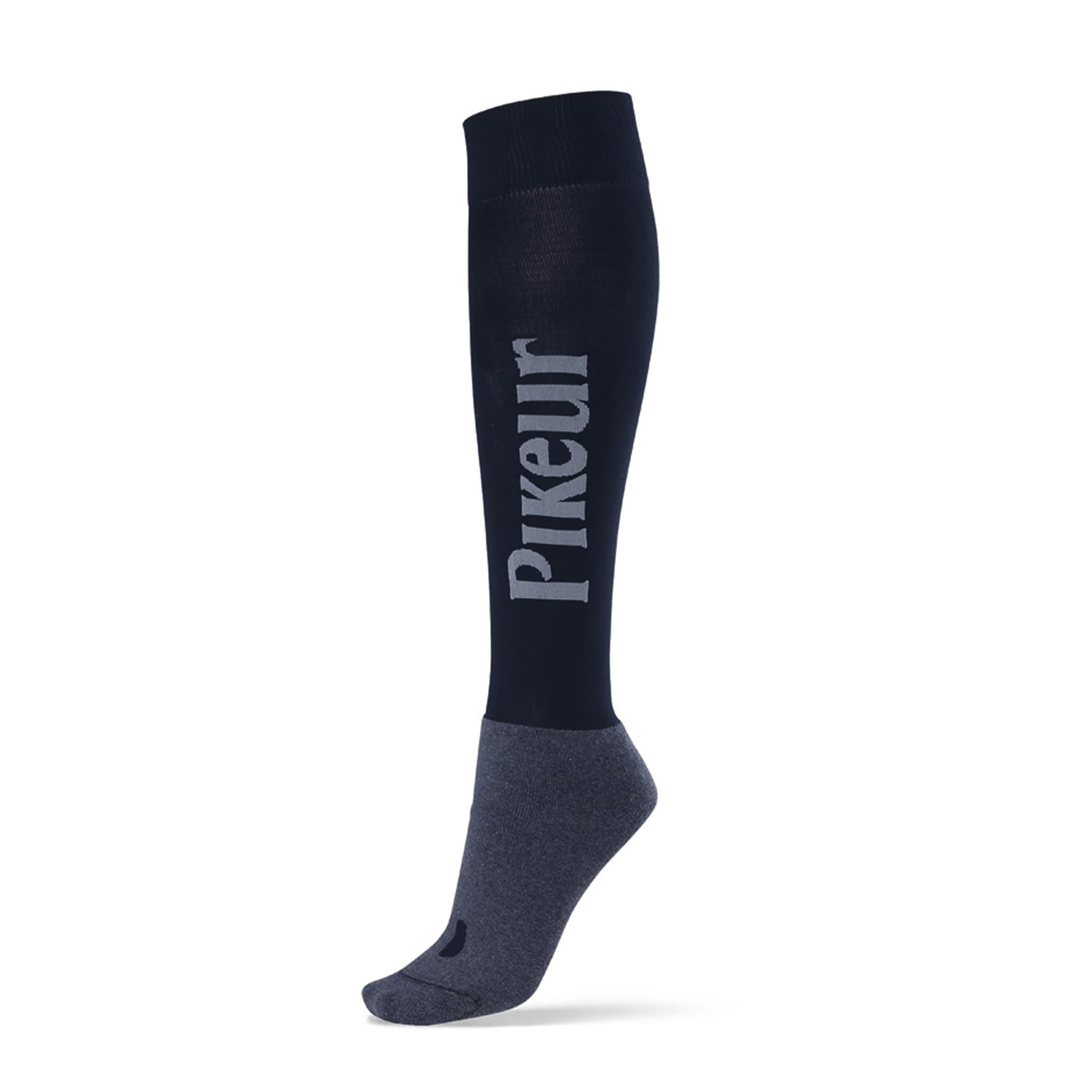 Pikeur Competition Riding Socks Navy 380 390