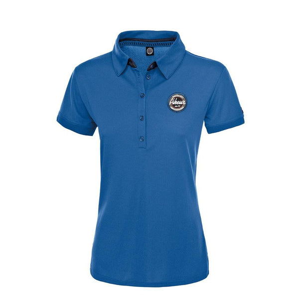 Pikeur Dasha Short Sleeved Polo Shirt Sapphire 12000-2042