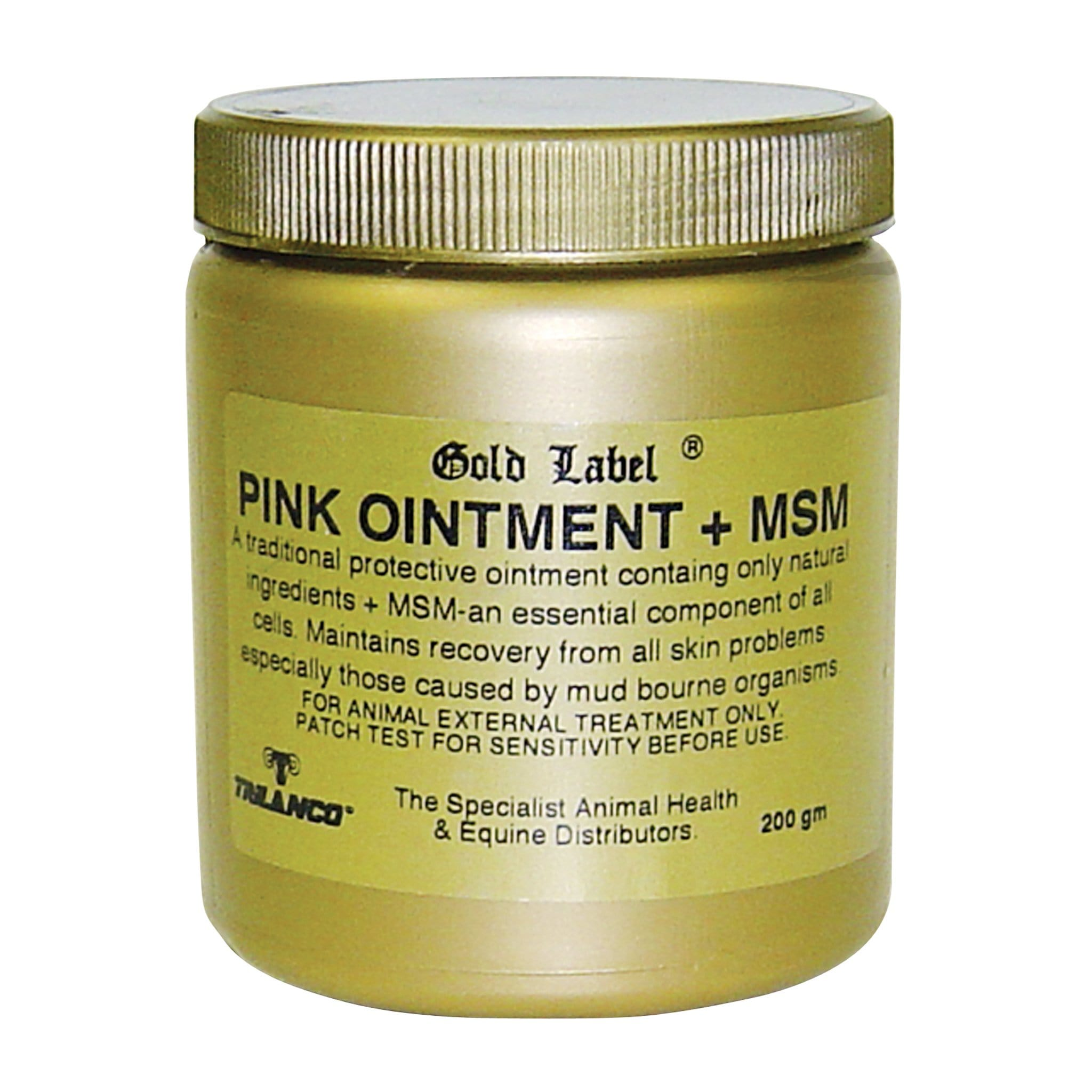 Gold Label Pink Ointment Plus MSM GLD0455