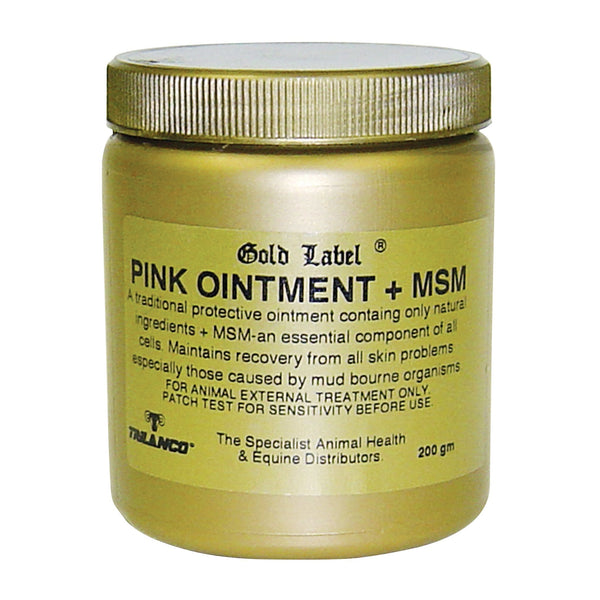 Gold Label Pink Ointment Plus MSM 200g GLD0455