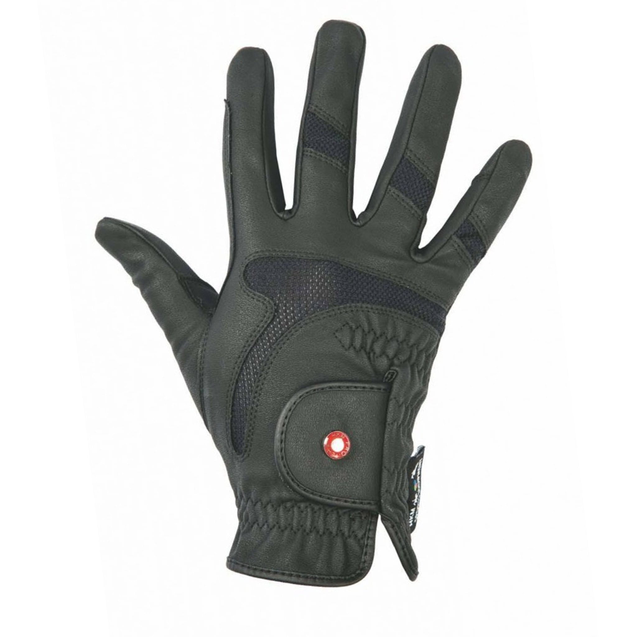 HKM Professional Air Mesh Riding Gloves Black 6885